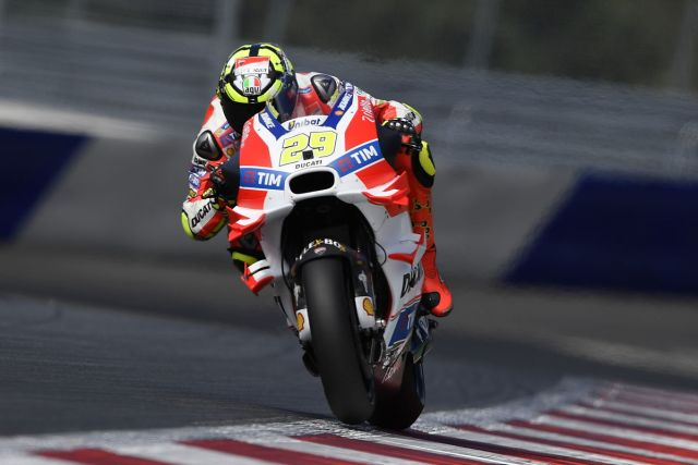 Andrea Iannone - Foto: © Ducati Press