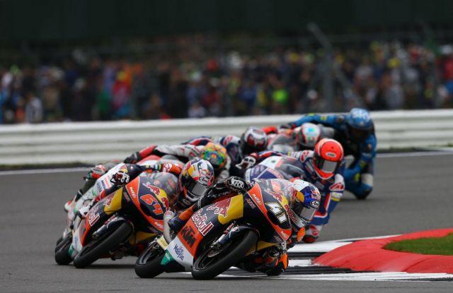 Brand Binder durante el Gran Premio de Gran Bretaña de Moto3