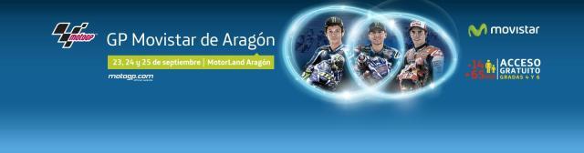 Horarios del Gran Premio de Aragón de MotoGp en Motorland