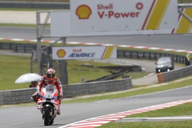 Andrea Dovizioso, Pole Position en el Gran Premio de Malasia de MotoGp
