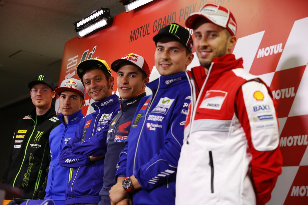 Rueda de Prensa Gran Premio de Japón MotoGp