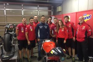 Yonny Hernández con el AGR Team