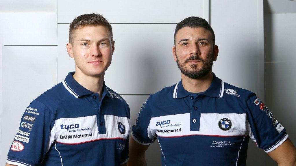 Christian Iddon y Davide Giugliano