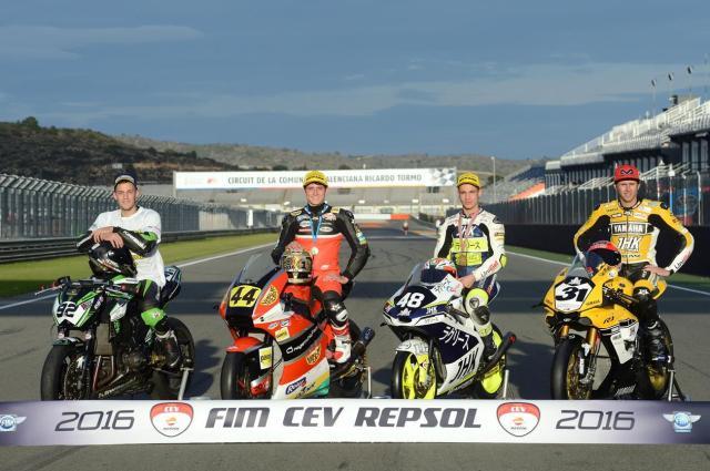 Ganadores FIM CEV Repsol 2016
