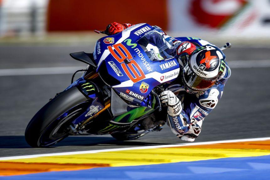 Jorge Lorenzo Entrenamientos Libres MotoGp Valencia