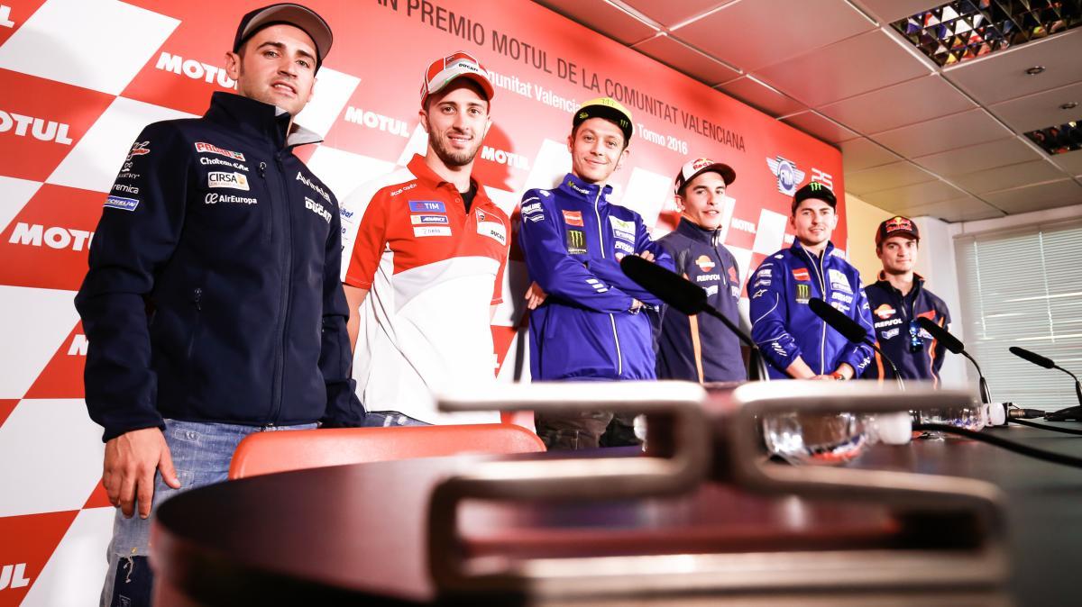 Rueda de Prensa Gran Premio Comunitat Valenciana MotoGp