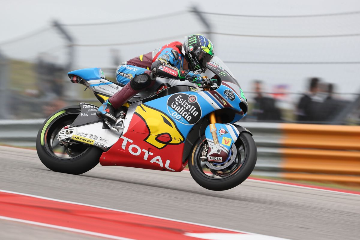 franco Morbidelli vence el Gran Premio de las Américas