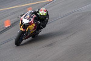 Davide Giugliano con Honda