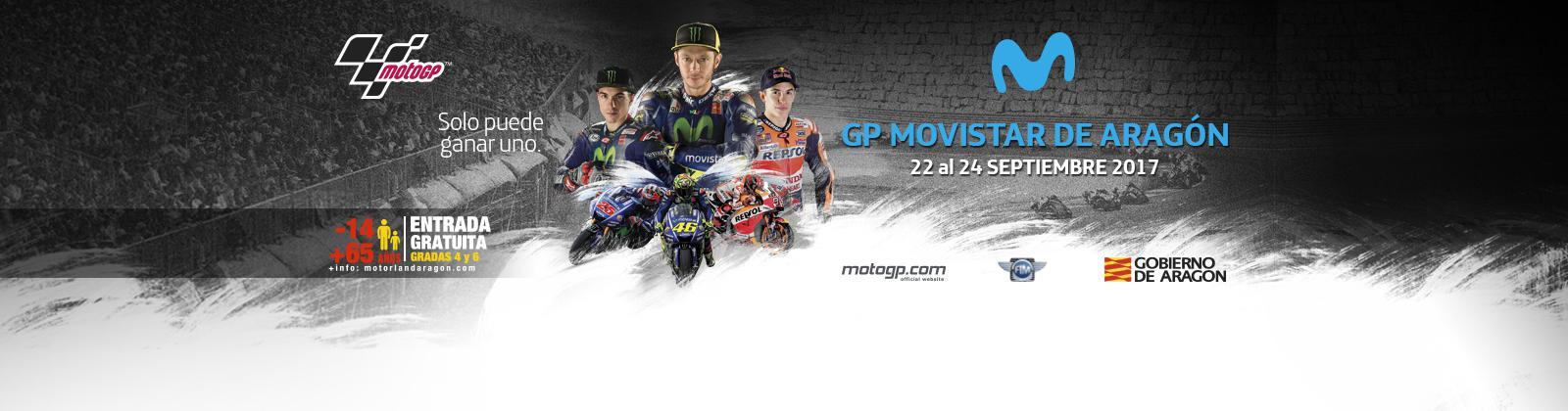 Horarios del Gran Premio de Aragón de MotoGp