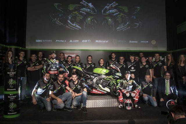 Presentación del Kawasaki Racing Team del Campeonato del Mundo de Superbike 2018