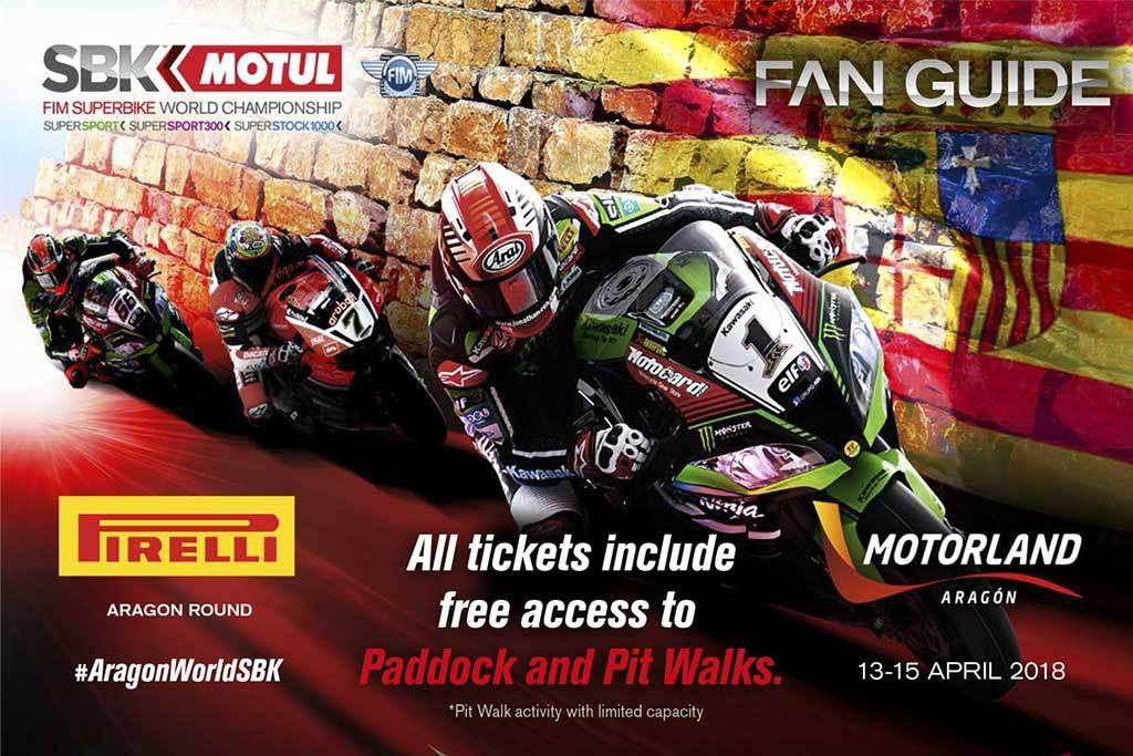 Horarios del Campeonato del Mundo de Superbike en Motorland Aragón 2018