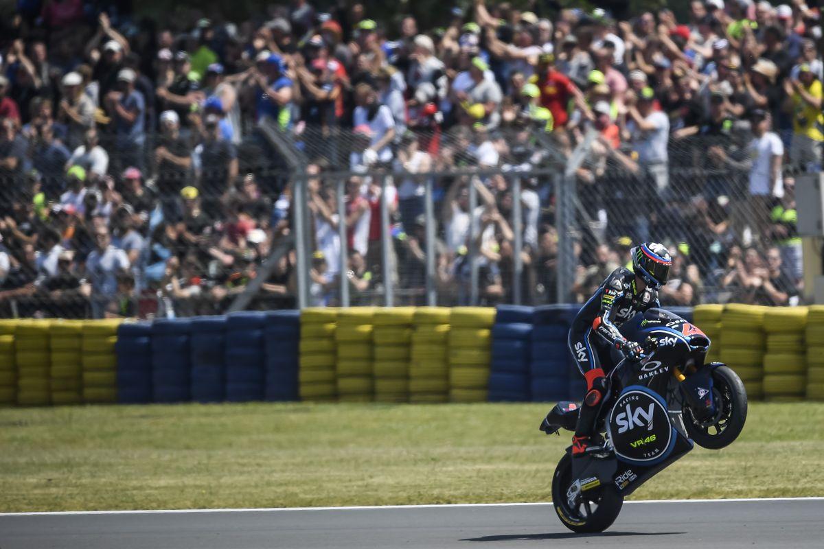 Francesco Bagnaia en Le Mans