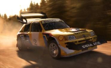DiRT Rally Pikes Peak Peugeot 205 T16 PP
