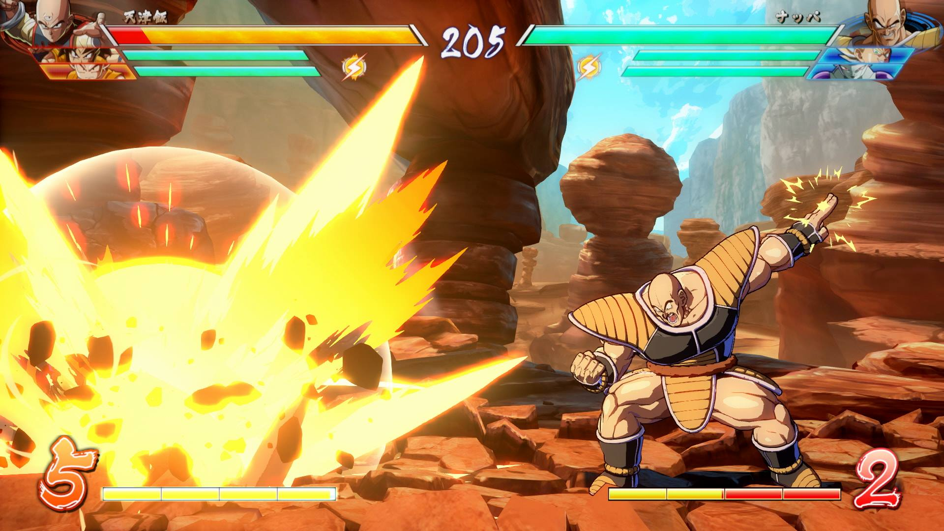 Dragon Ball FighterZ Nuevos Screenshots De Ginyu Y Nappa El Modo Historia Torneo Y Online
