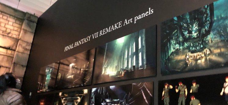 Final Fantasy VII Remake Art Panels 2