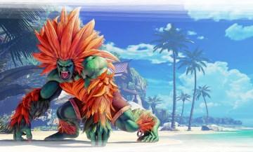 Street Fighter V Blanka Jey Art