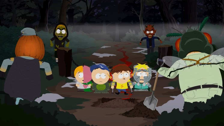 South Park The Fractured But Whole DLC Bring the Crunch Screen 1
