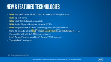 Intel-Core-9000-Main-Features
