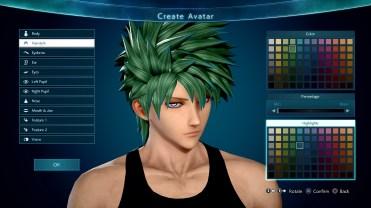 Jump Force Avatar Customization Screen 4