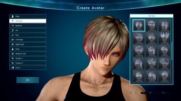 Jump Force Avatar Customization Screen 5