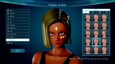 Jump Force Avatar Customization Screen 6