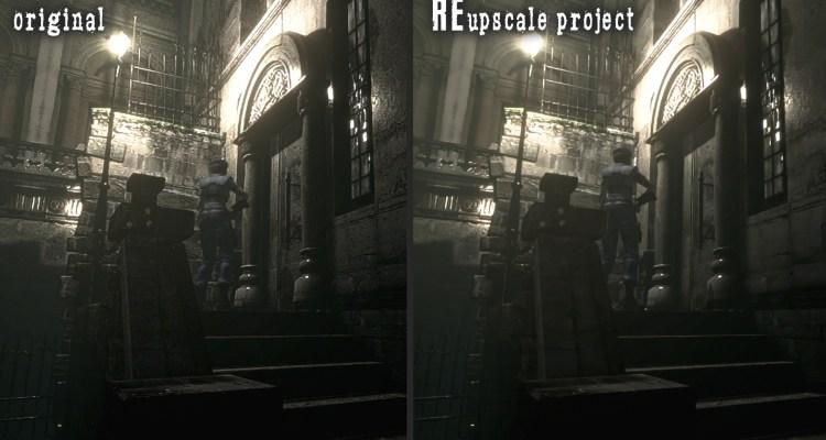 Reupscale Project es un Mod para Resident Evil HD Remaster