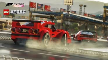 Forza Horizon 4 LEGO Speed Champions Ferrari Drift Screenshot