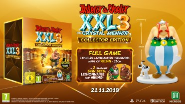 Asterix & Obelix XXL 3 The Crystal Menhir Collector Edition