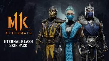 Mortal Kombat 11 Aftermath Eternal Klash Skin Pack