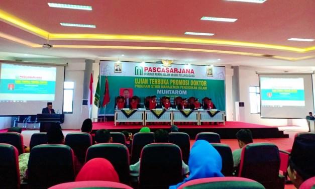 Sekretaris PCNU Raih Gelar Doktor Pertama di IAIN Tulungagung