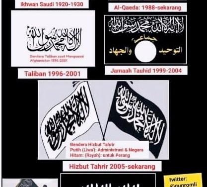 Sejarah Pembajakan Kalimat Tauhid Sebagai Bendera Politik