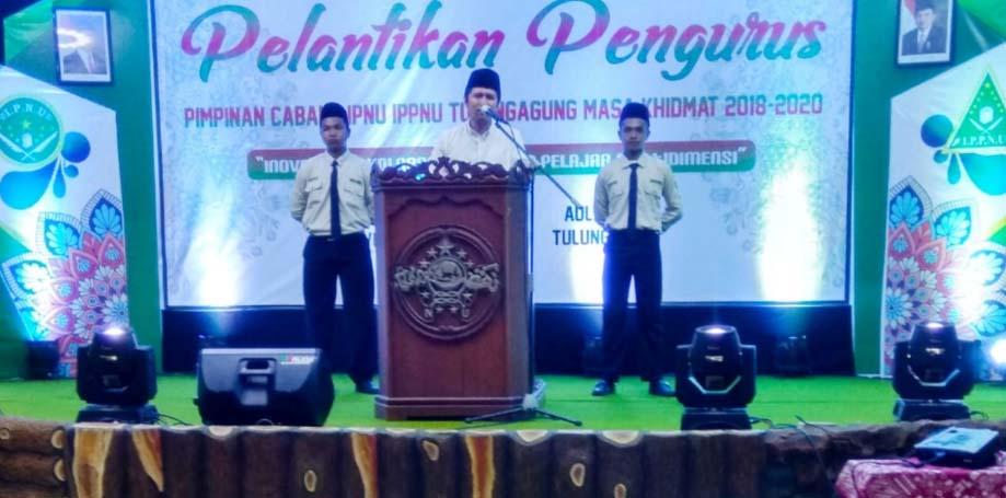 Pelantikan PC IPNU IPPNU Tulungagung dihadiri Wagub Jatim Terpilih