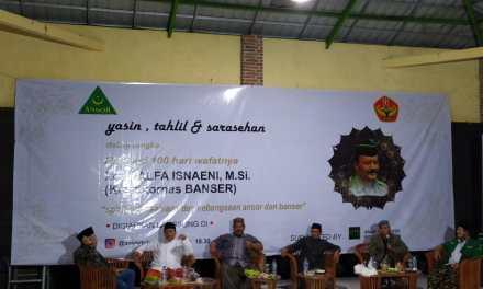 PC GP Ansor Tulungagung Peringati 100 Hari Wafatnya Kasatkornas Banser Alfa Isnaeni