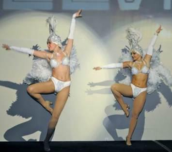 showgirls - white