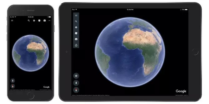 The New Google Earth Is Now Available on iOS