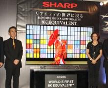 SHARP Luncurkan TV Baru Setara 8K