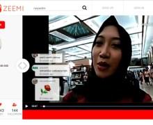 Komunitas Bisa Pakai Zeemi untuk Live Video Streaming