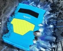 Apacer AC531, Hard Disk Portabel dengan Perlindungan Ganda