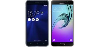 Membandingkan Asus Zenfone 3 ZE552KL dengan Samsung Galaxy A7 2016