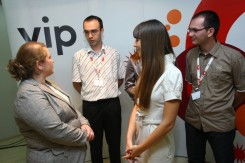Ministarka u razgovoru sa Vip studentima