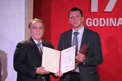 Priznanje Biznis Partner za Predstavništvo kompanije LG Electronics u Srbiji
