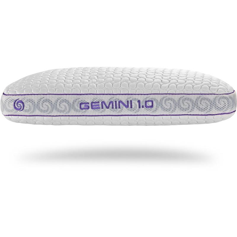 bedgear gemini 1 0 stomach sleeper pillow