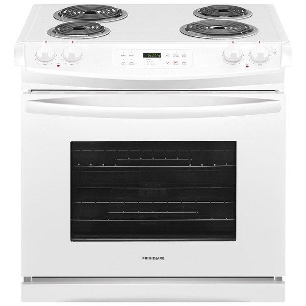 "Frigidaire 30"" Slide-in Electric Range - White Pcrichard"