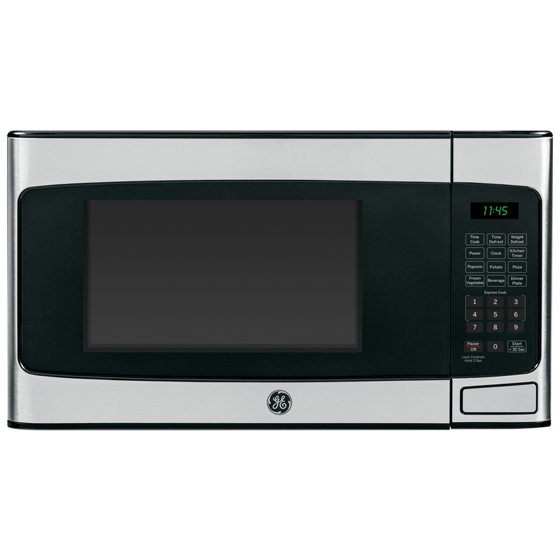 ge profile 20 1 1 cu ft countertop microwave with 10 power levels stainless steel