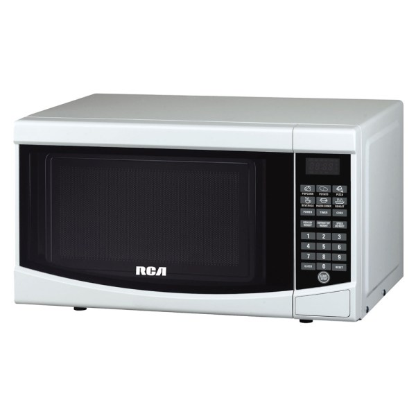 Rca 0.7 Cu. Ft. Countertop Microwave - White Rmw733w