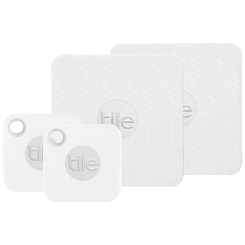 tile mate slim combo 2018 item trackers 4 pack