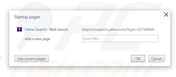 Comment se débarrasser de Redirection vers Search.yahoo