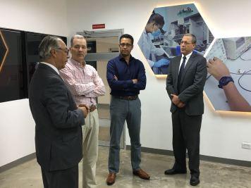 Visita Representante del BID al PCSD 4