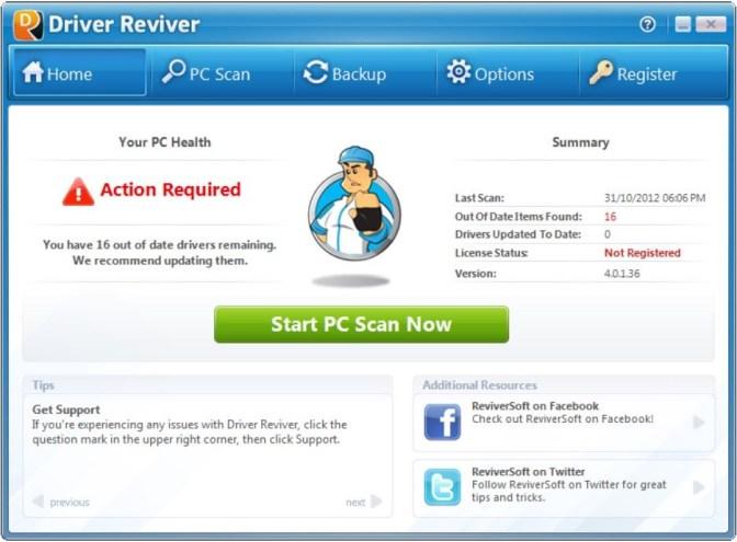 Driver Reviver latest version