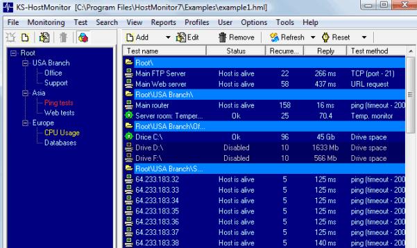Advanced Host Monitor latest version
